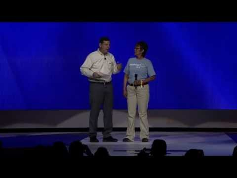 Walmart Associate Receives Promotion Live on Stage