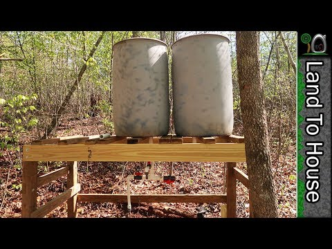 Off Grid Water Tower P2