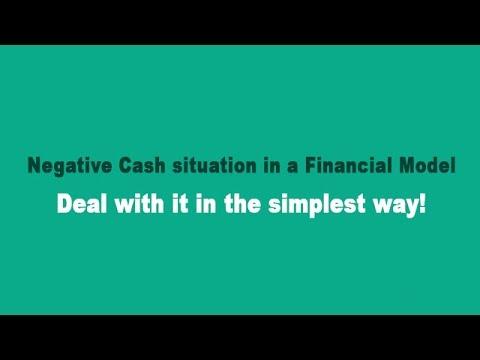 Cash Balancing II - Dealing with Positive and Negative Cash Balance