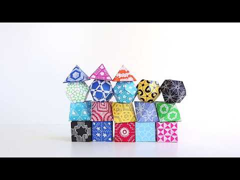 3D Geometric Shapes with Babble Dabble Do