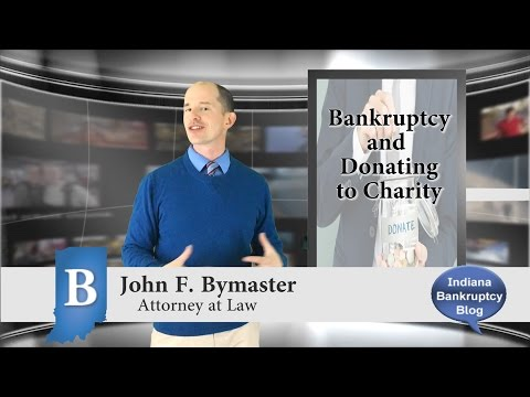 Bankruptcy and Donating to Charity