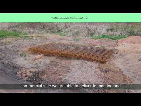 Top Notch Concrete Deliveries Las Vegas
