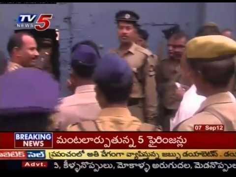 Brokers Halchal in Hyderabad Passport Offices (TV5)