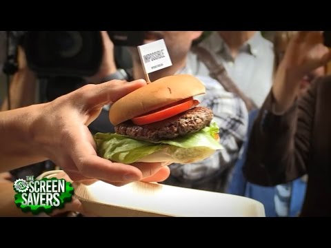 The New Screen Savers 75: Meatless Burger That Bleeds