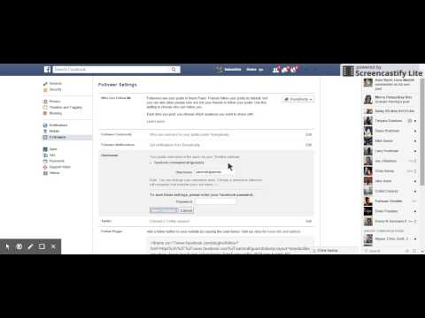 How to Change Your FB URL/Username