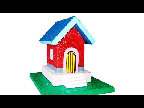Thermocol House- paper house