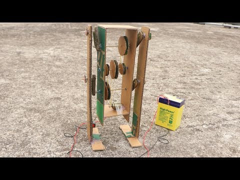 How to Make Walking Robot Man out of Cardboard