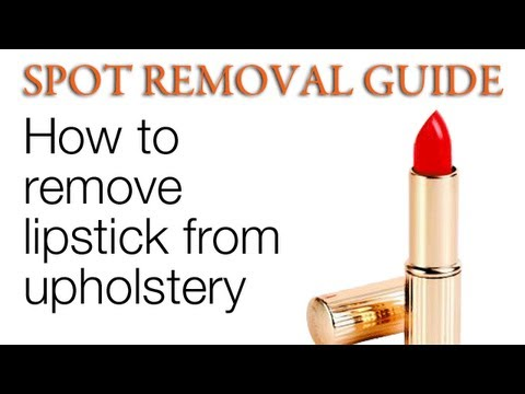 How to Get Rid of Lipstick Stain | Spot removal Guide