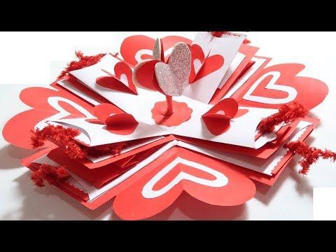 EXPLOSION BOX (PART-1)| BIRTHDAY GIFT IDEA | ANNIVERSARY GIFT IDEA | GIFT FOR BOY FRIEND