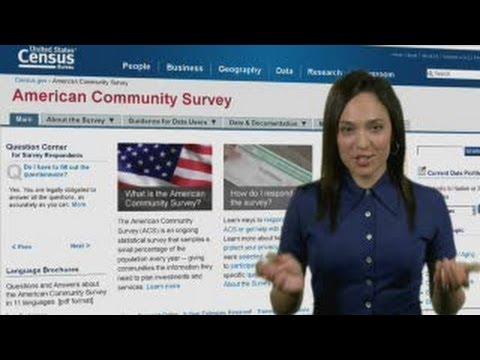 American Community Survey: Block Group Data