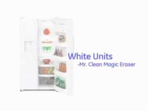 How to Clean White Refrigerator Handles