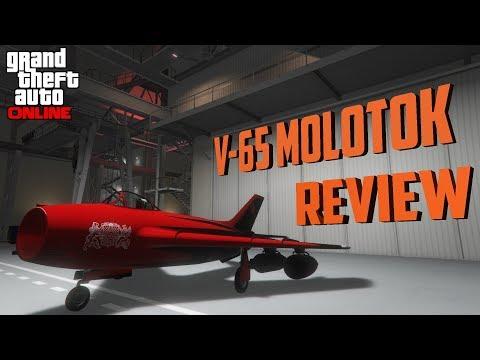 V-65 Molotok REVIEW & BREAKDOWN : GTA 5 SMUGGLERS RUN DLC
