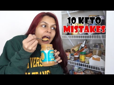 The Top 10 Most Common Keto Mistakes