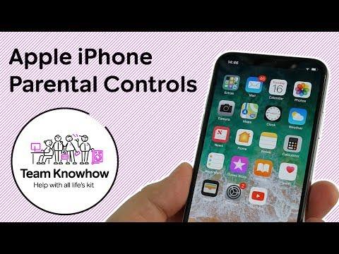 How to Setup Parental Controls on iPhone (iOS 11)