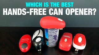 5 Hands-Free Can Openers Compared!