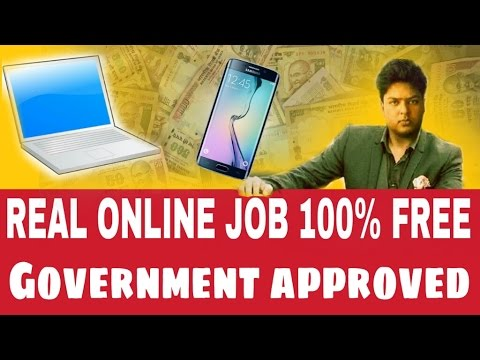 Real online job part/full-time without investment  india