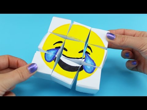 Emoji DIY Paper Puzzle with Rocket Raccoon from Guardians of the Galaxy