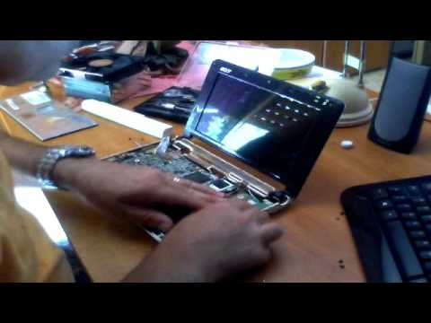 Acer aspire one (ZG5)  - Replacement hard drive
