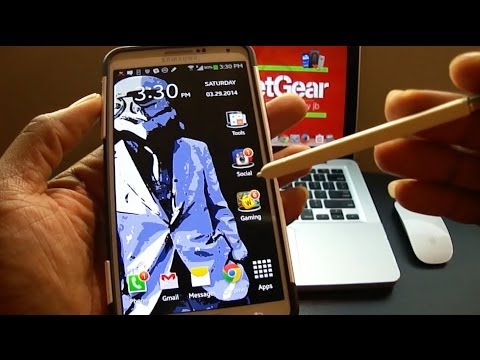 Samsung Galaxy Note 3: Review of S Pen Tool Box