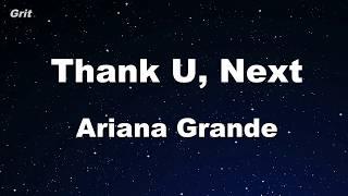 Thank U Next  Ariana Grande Karaoke No Guide Melody Instrumental