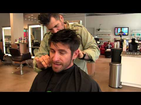 Hairstyle Tutorial: Alpha M. Hair Care, Haircut & Hairstyle For Men