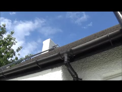 Painting a rendered chimney stack. Part 1