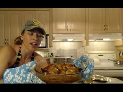 How to Roast Napa Jack's Citrus Pear Chicken Thighs: Wine Country Kitchens with Kimberly