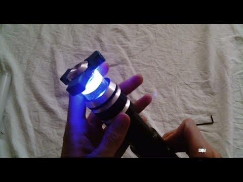 How to Make a Dynamic Lightsaber Blade Plug Using an UltraSpinners Fidget Spinner