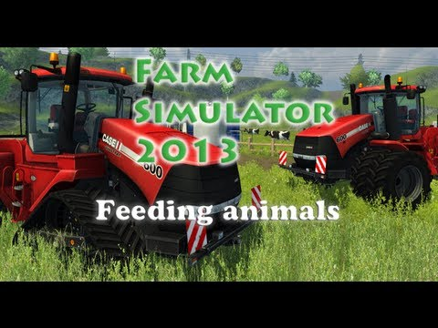Farm simulator 2013: Feeding animals [Tutorial]