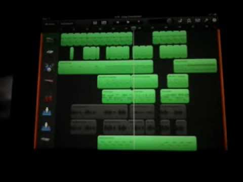 How To Merge Tracks in Garageband iPad Tutorial
