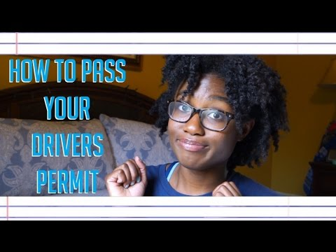 How to Pass your Drivers Permit Test the FIRST TIME!!!
