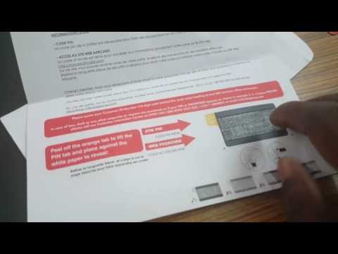 Open UBA card  and check codes