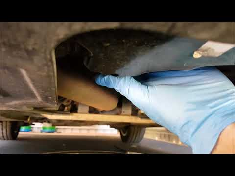 How to change oil & filter 2012 Holden Cruze Turbo Diesel JH