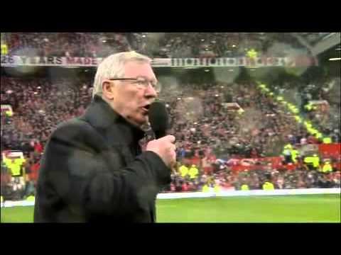 Sir Alex Ferguson Farewell Speech 5/12/2013 [Official]