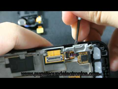How to disassemble Sprint Samsung Conquer 4G SPH D600