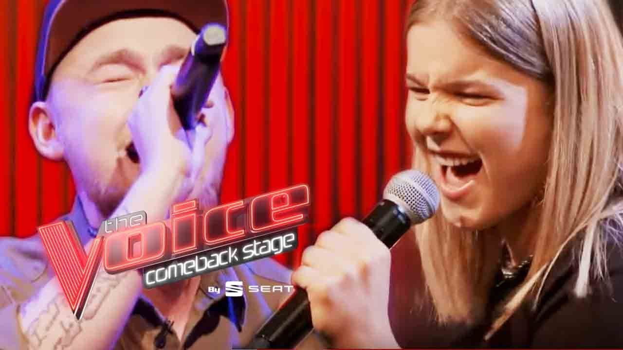 Bad Liar vs. Too Close | Jan-Luca vs. Celine | Voice of Germany | Comeback Stage by SEAT
