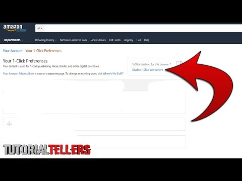 How to Disable Amazon 1-Click Payment Method