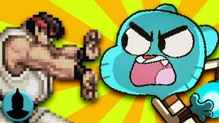 The Amazing World of Gumball References to Video Games, Movies, + MORE (Tooned Up S3 E44)