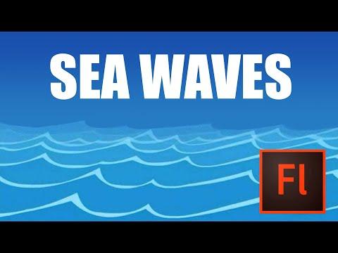 Flash Animation Tutorial - Animate Sea in Flash