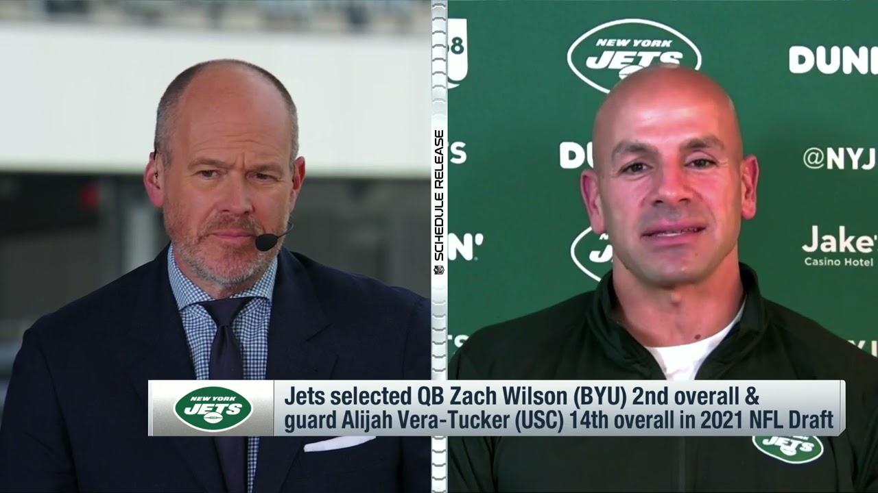 Head Coach Robert Saleh Discusses 2021 Schedule   The New York Jets   NFL