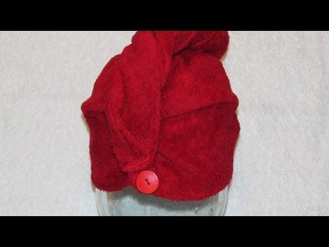Sew a Turban Hair Towel - DIY Beauty - Guidecentral