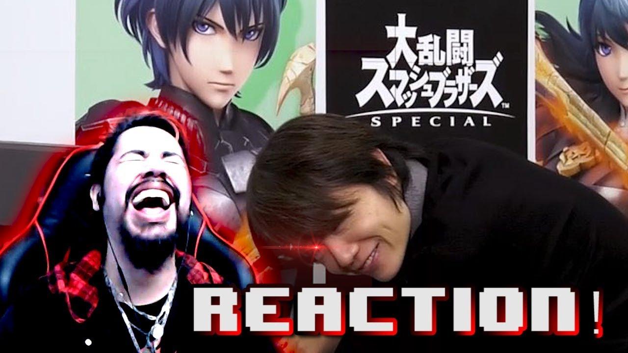 Byleth Reveal REACTION! - Super Smash Bros Ultimate DLC