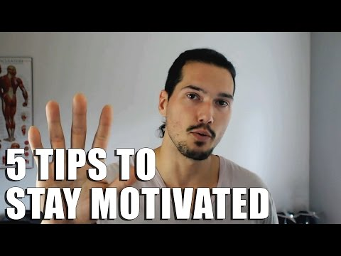 How To Stay Motivated to Workout | 5 Tips to Get Motivated