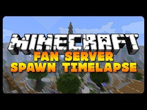 Minecraft: EPIC SERVER TIMELAPSE BUILD! (Fan Server Hub Build)