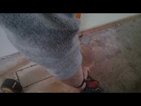 How to properly cut a hole in a wood floor for a Register Boot. By: HVACONTIME.COM