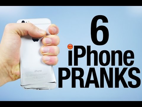 6 iPhone Pranks To Piss Off Your Friends