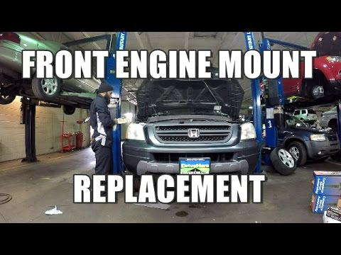 How to Replace Front Engine Mount 2003-2008 Honda Pilot