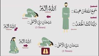 Teach Kids salah (prayer) learn namaz with tajweed in urdu