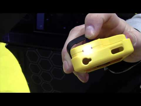 Yellow Jacket iPhone case + stun gun + battery backup - CES 2014