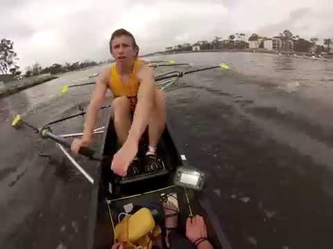 UCSB Men's Rowing: Opening Day 2014